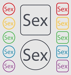 Safe love sign icon safe sex symbol symbols on the vector