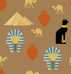 Egypt seamless pattern vector