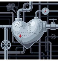 Still heart vector