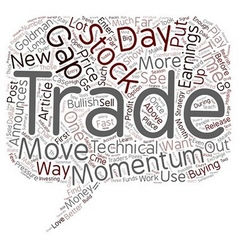 Better trades momentum part text background vector