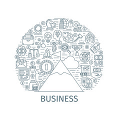 Business concept banner2 vector