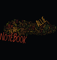 The notebook dvd review text background word vector