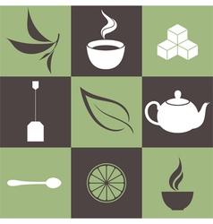 Tea vector image