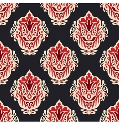 Abstract seamless vintage luxury ornament vector image vector image