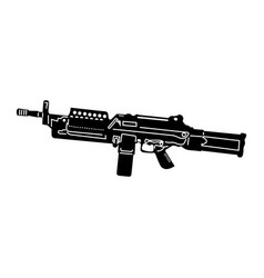 isolated weapon vector image
