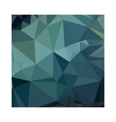 Metallic seaweed green abstract low polygon vector