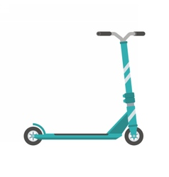 Push Scooter vector image