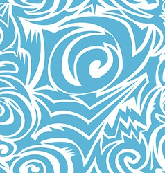 Seamless tribal background vector