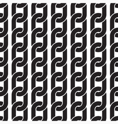 Seamless pattern - black hanging chains vector
