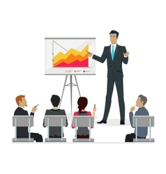 Infographic master class training staff brief vector