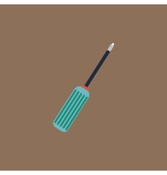 Pocket phillips screwdriver icon sign and button vector