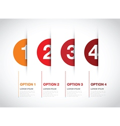 red option background vector image vector image