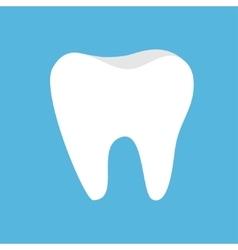 Healthy Tooth icon Oral dental hygiene Children vector image