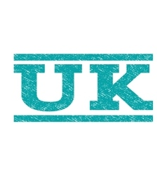 Uk watermark stamp vector