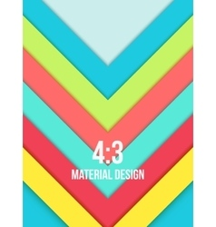 Background Unusual modern material design vector image vector image