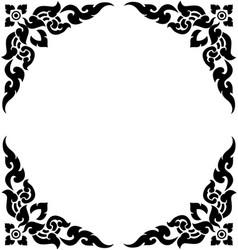 Corner frame 02 vector
