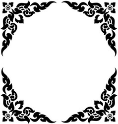 corner frame 02 vector image vector image