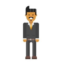 Latin-american man vector