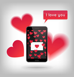Valentine s day and love concept vector