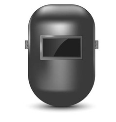 welding mask isolated vector image vector image