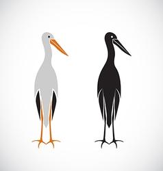 Stork design vector image