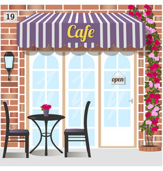 Cafe or coffee shop vector