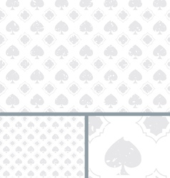White vintage poker spade distressed background vector