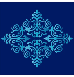 Antique ottoman turkish pattern design sixty three vector
