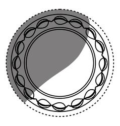 Isolated award ribbon vector