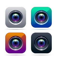 Photo app icon vector image vector image