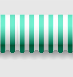 seamless awning vector image vector image