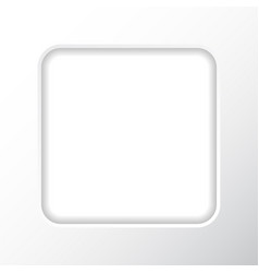 frame on a white background in the form of a vector image