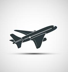 icons aircraft vector image vector image