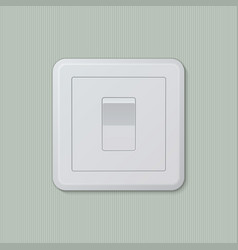Light switch 01 vector image