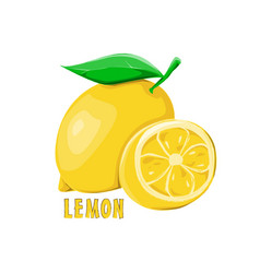 Logo icon design lemon farm vector