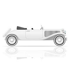 old retro car 03 vector image vector image