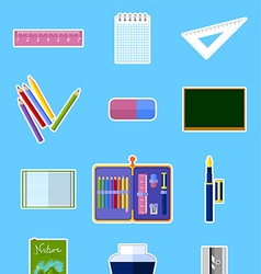 School set vector