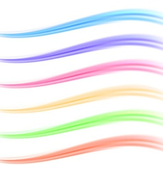 Colorful bright banner divider collection vector