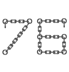Chain numbers vector