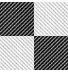 Simple graphic pattren vector image