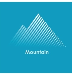 Mountain mountain logo vector