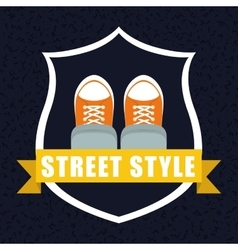 Street and urban style design vector