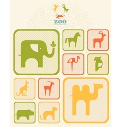 Abstract emblem or logo vector image