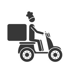 Food home service icon vector