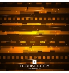 Futuristic digital background Road concept vector image vector image