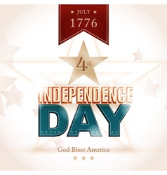 USA Indenpendence Day background vector image