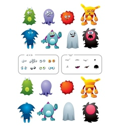 Monster pack vector