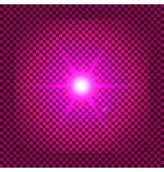 Pink flash vector image