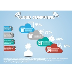 Cloud computing classifications new style 2 vector