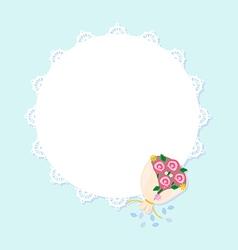 sweet frame vector image